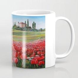 Italian Poppy Field Coffee Mug