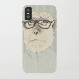 monkey gafapasta iPhone Case
