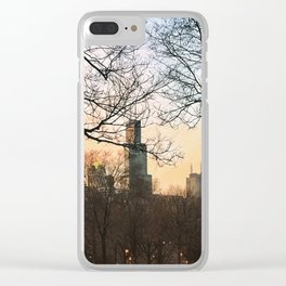Late January Sunset Clear iPhone Case