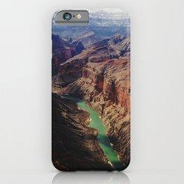 The Colorado Runs Through Marble Canyon iPhone Case