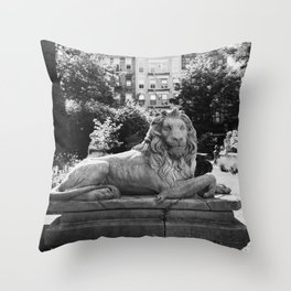 Elizabeth Street Garden II Throw Pillow