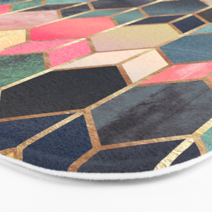 Stained Glass 3 Bath Mat