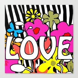 POP Love Canvas Print