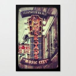 Nashville Crossroads Canvas Print