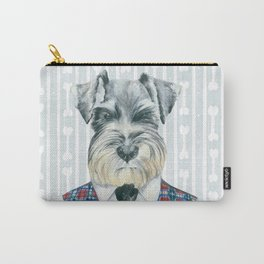 Schnauzer Mc Doogall Carry-All Pouch