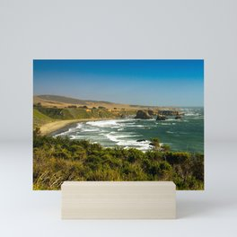 San Simeon Coastline, San Simeon, California Mini Art Print