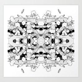 Rings 2 Art Print