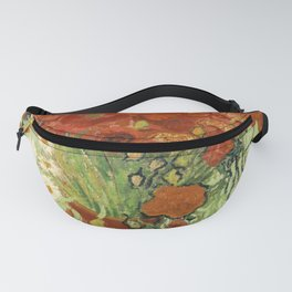 "Vincent van Gogh ""Still Life, Vase with Daisies, and Poppies"" Fanny Pack"