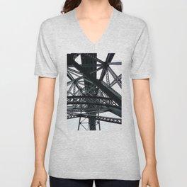 Porto Bridges Unisex V-Neck
