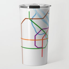 Vienna U-Bahn Travel Mug