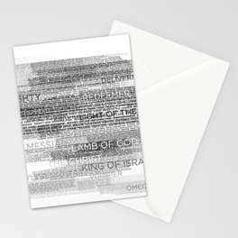 Names of God Stationery Cards