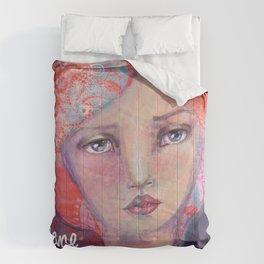 Folie by Jane Davenport ( with logo) Comforters