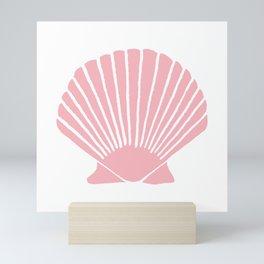 Coral Seashell Mini Art Print