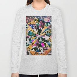 Graffiti Mosaic Long Sleeve T-shirt