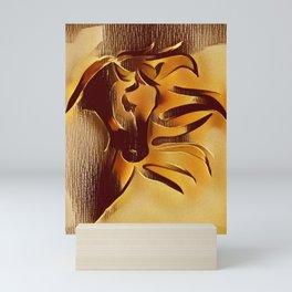 Sandstorm. Freedom of Expression. Mini Art Print
