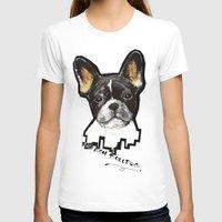 french bulldog T-shirts featuring French Bulldog by Det Tidkun