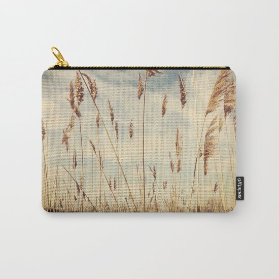 Tall Field by the Ocean Carry-All Pouch