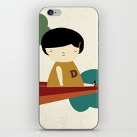 be brave iPhone & iPod Skins featuring Brave by yael frankel
