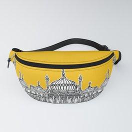 Brighton Royal Pavilion Facade ( yellow version ) Fanny Pack