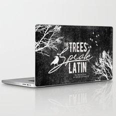 The Trees Speak Latin - Raven Boys Laptop & iPad Skin