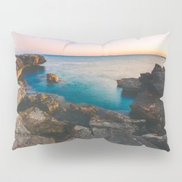 Rock beach paradise Pillow Sham