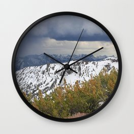 Sonora Peak Wall Clock