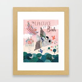 Language of the birds Framed Art Print