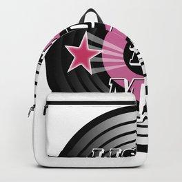 Listen to Me - Digital Art Backpack