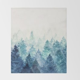 Fade Away Throw Blanket