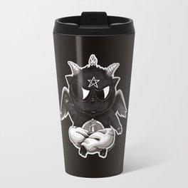 Black Cathomet Travel Mug