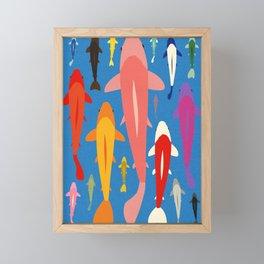 Koi Gang Framed Mini Art Print