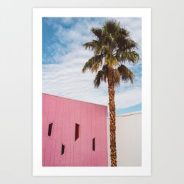 Palm Springs Vibes Art Print