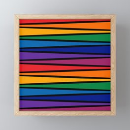 Spectrum Game Board Framed Mini Art Print
