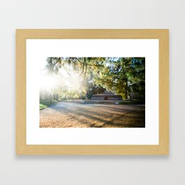Parco Sempione Framed Art Print