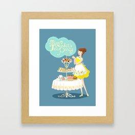 Miss Norbitt's Tea Party Framed Art Print