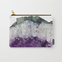 Double Amethyst Carry-All Pouch