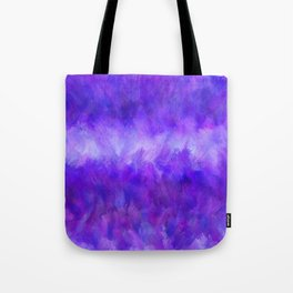 Dappled Blue Violet Abstract Tote Bag
