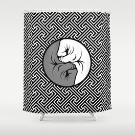 Way of the Fist Shower Curtain