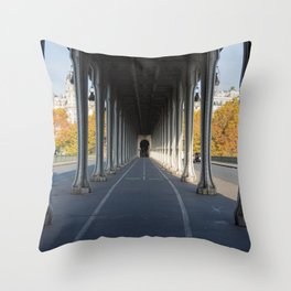 Pont de Bir-Hakeim (That Place From Inception) Throw Pillow