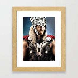 Thunderstruck Framed Art Print