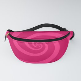 pink vortex Fanny Pack