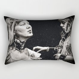 Like Mother like Daughter Rectangular Pillow