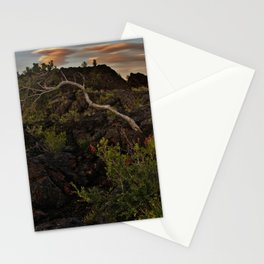 In the Lava Fields Stationery Cards