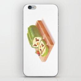 Matcha Cake Roll iPhone Skin