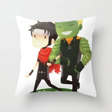 Young Avengers Throw Pillow