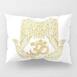 Hamsa - Om symbol Pillow Sham
