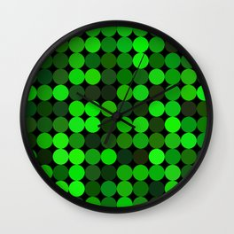 every color 044 Wall Clock