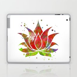 Colorful Lotus Flower Laptop & iPad Skin