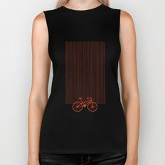 Red Bike by Friztin Biker Tank