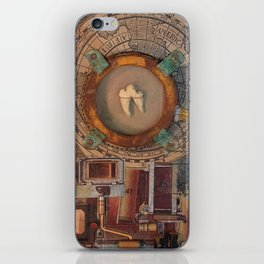 St Badger Reliquary  iPhone Skin